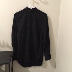 Zara slim fit dress shirt  with mandarin collar